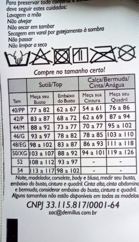 Sutiã Demilus Olimpo Anizete Plus Size - Foto 6