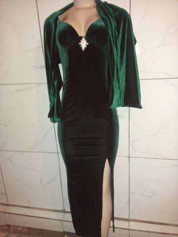 Vestido de festa novo 1x de uso - Foto 3