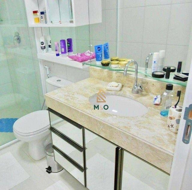 Apartamento com 3 dormitórios à venda, 115 m² por R$ 1.200.000,00 - Porto das Dunas - Aqui - Foto 11