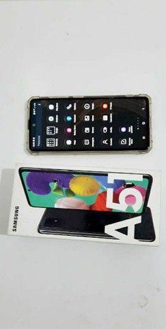 Samsung A51 seminovo apenas 2 meses de uso - Foto 4