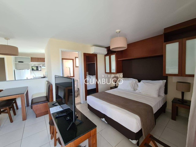 Apartamento com 1 dormitório para alugar, 39 m² por R$ 2.800/mês - Cumbuco - Caucaia/CE - Foto 5