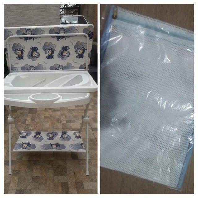Banheira completa + kit 5 saquinhos de maternidade