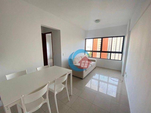 Apartamento com 2 quartos para alugar, 45 m² por R$ 1.700/mês - Espinheiro - Recife/PE