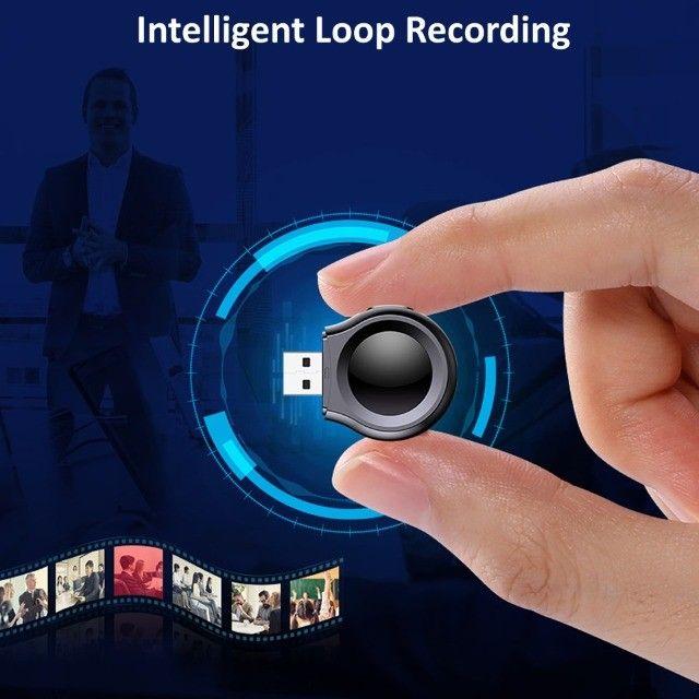 Mini Câmera 1080p USB Loop Gravação de Voz   - Foto 5