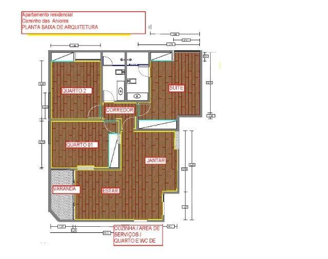 Apartamento 3 qtos caminho das árvores  c/garagem privativa - Foto 4