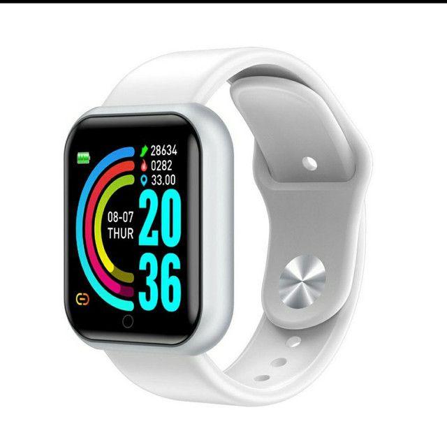 Smartwatch Y68 D20 Relogio inteligente conexão Bluetooth  - Foto 4