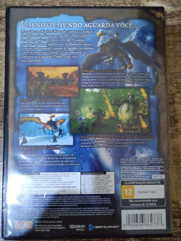 Jogo pc -DVD duplo - World of Warcraft - Foto 2