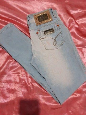 Calças jeans e shorts
