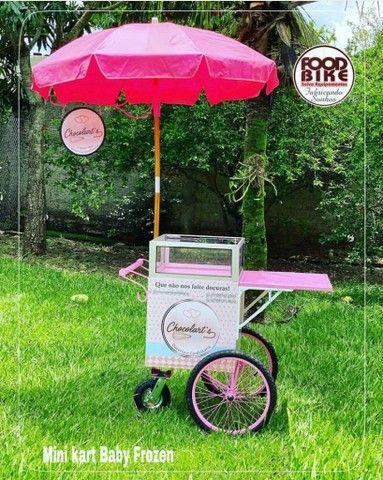 Mini kart baby - para venda de doces. - Foto 6