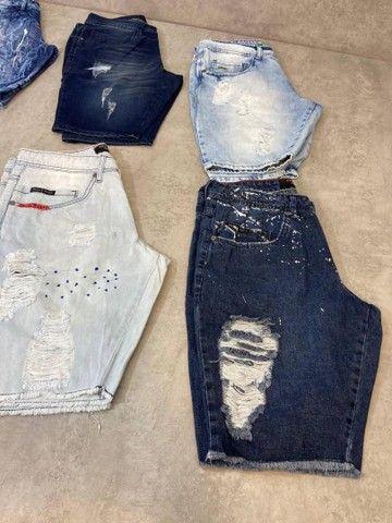 Bermudas Jeans Grife - Foto 2