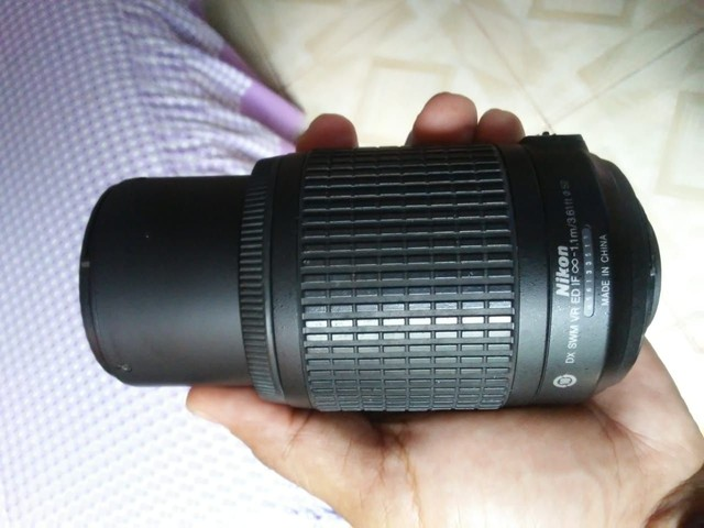 Lente Nikon 55-200 - Foto 2