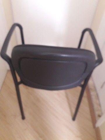 Cadeira para escritório fixa - Foto 3