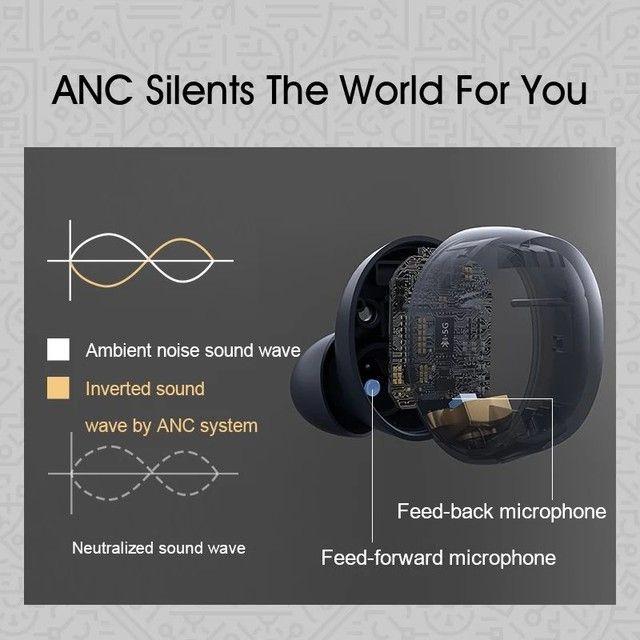 Fone de ouvido QCY-HT01 Promoção APTx-30h ANC - Foto 4