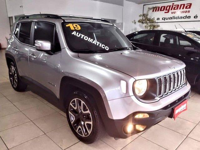 Jeep RENEGADE LONGITUDE 1.8 FLEX AUTOMATICO 19/19