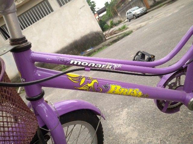 Vendo Bicicleta aro 20 Monark Brisa - Foto 2
