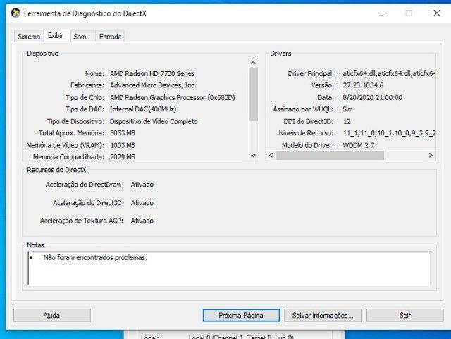 Computador Core I5 terceira Geração, ssd 240 gb + Placa de video 1gb ddr5 - Foto 6