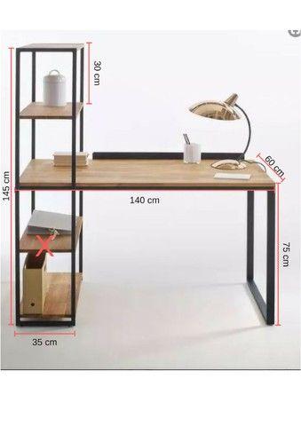 Mesa Industrial para escritório - Foto 2