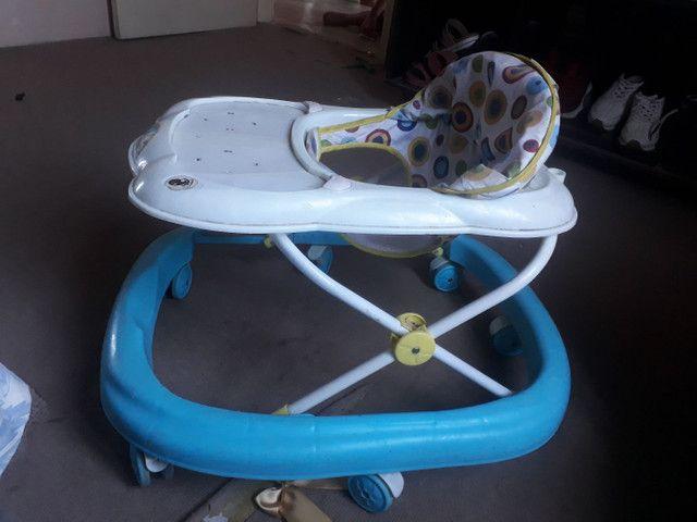 Andador e bebê conforto 150 - Foto 2