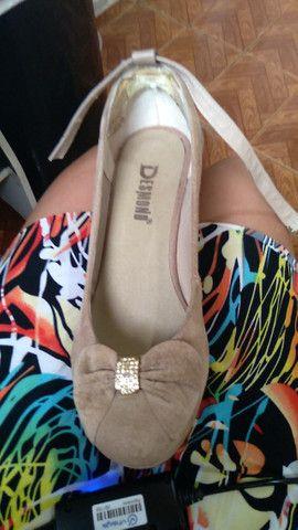 Sapato plataforma tamanho 36 - Foto 3