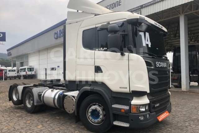 Scania R 440 A 6X2, ano 2013/2014 - Foto 3