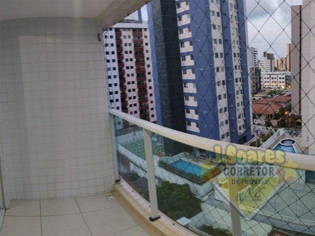 Tambaú, Mobiliado, 2 quartos, suít, 70m², R$ 2.300, Aluguel, Apartamento, João Pessoa - Foto 2