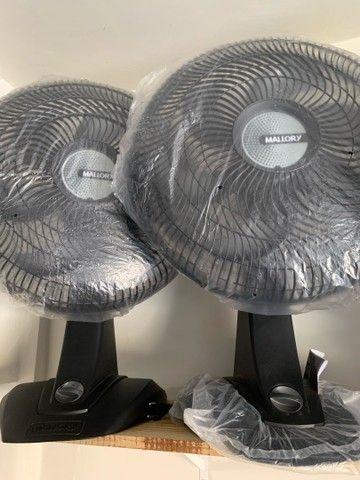 Ventilador Mallory 40 Centímetros 3 velocidades 127v (novo)