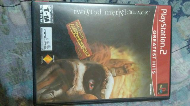 Jogo Twisted Metal Black