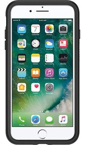Capa Otterbox Symmetry Iphone 7 & 8 Plus Preto 100% Original