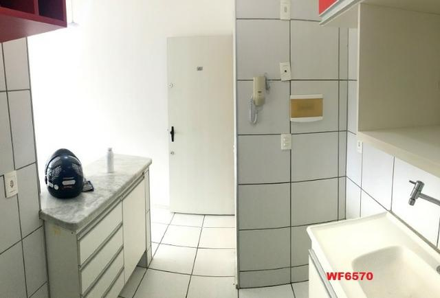 AP1052 Aimará, apartamento com 2 quartos, 1 vaga, condomínio no Cambeba, campo de futebol - Foto 5