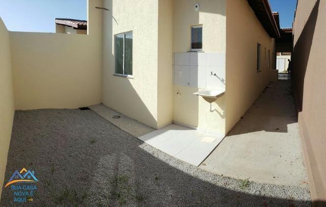 Casas com 3 quartos, 1 suíte, 2 vagas de garagem,88m² de área construída!! - Foto 10