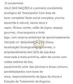Terreno à venda, 350 m² por r$ 150.000 - vargem grande - teresópolis/rj - Foto 3