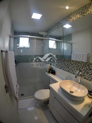 Apartamento à venda com 3 dormitórios em Colina de laranjeiras, Serra cod:AP184LE - Foto 14