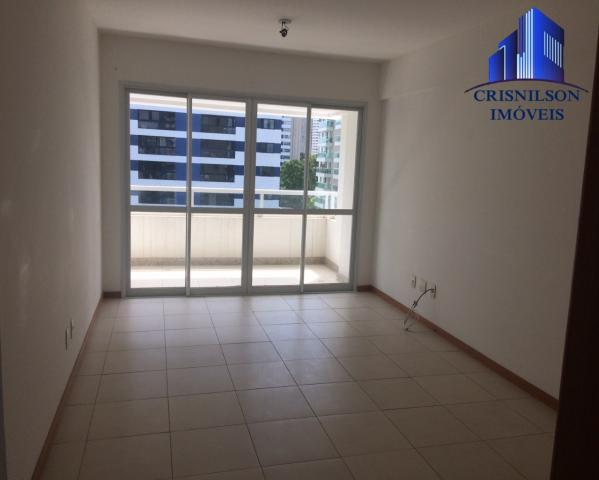 Apartamento à venda prime ville, alphaville i salvador, nascente, 2/4 sendo 1 suíte, 2 gar - Foto 2