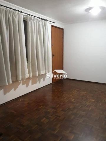 Apartamento com 3 dormitórios à venda, 50 m² por r$ 220.000 - floradas de são josé - são j