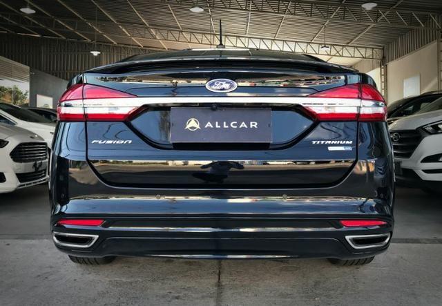 Ford Fusion Titanium Awd C/ Teto Solar 2.0. Preto 2016/2017 - Foto 3