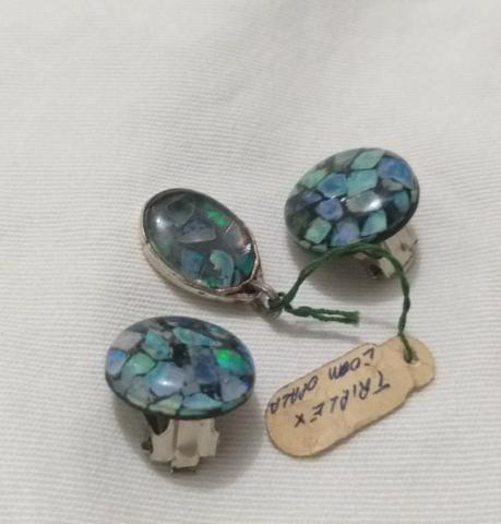 Conjunto Triplex de Opalas - Foto 3
