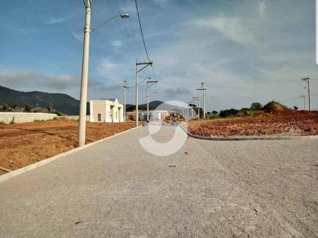 Terreno à venda, 240 m² por R$ 99.000,00 - Ubatiba - Maricá/RJ - Foto 2