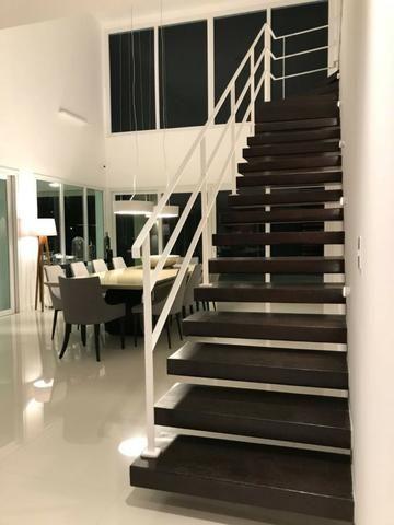 Luxuosa casa duplex com decoração e mobília completa conheça o projeto na integra paiva - Foto 17