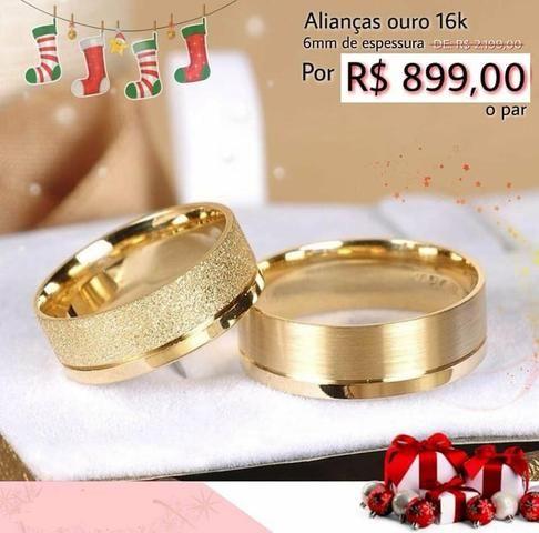 7a470fb2f5f Alianças de ouro 16k e 18k - Bijouterias