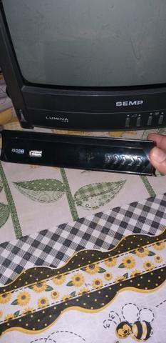 2 TV e 1 conversor digital
