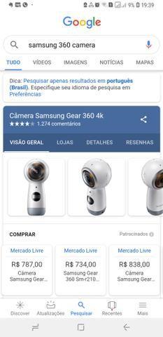 Camera Samsung 360 - Foto 3