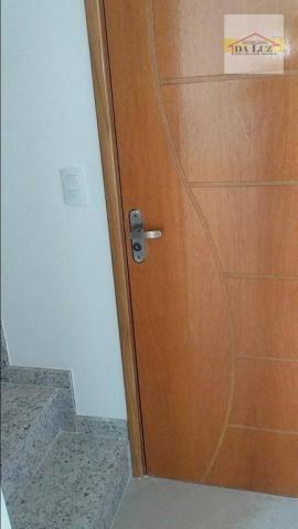 Apartamento com 3 dormitórios à venda, 90 m² por r$ 420.000 - parque das nações - santo an - Foto 12
