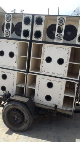 Carroça de som pra vender hoje