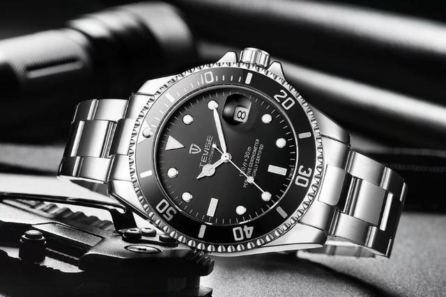 a0c0344ee65 Relógio Tevise Mecânico Automático de Luxo Original Parecido com Rolex