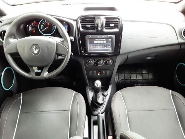 Renault Sandero 1.0 Vibe, 2017/2018, Completo, Branco, 48.000km - Foto 6