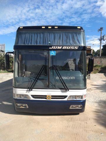 Ônibus rodoviária busscar jumbuus 360 Scania k124 420cv - Foto 8