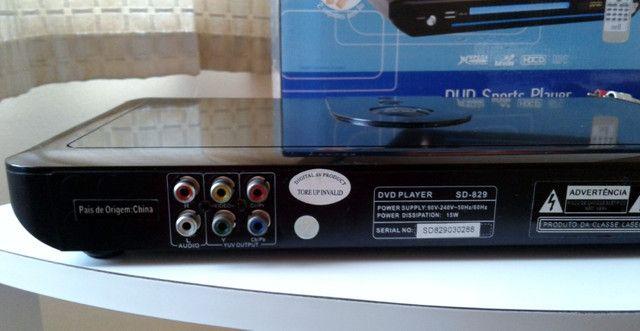 DVD Player Nell Sd-829 c/ Jogos Excelente Estado - Foto 3
