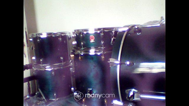 Bateria premier tambores e caixa - Foto 6