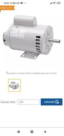Motor monofásico 1 cv 750 rpm