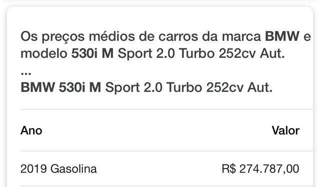 BMW 530 i M Sport 2,0 Turbo 252 CV Aut. - Foto 19